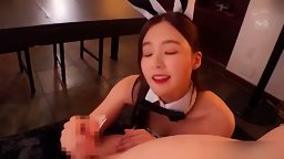 KPOP Red Velvet Irene is a handjob bunny 裵柱現 AI智能換臉
